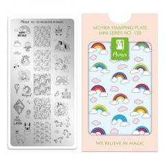 Moyra Mini Stamping Plates